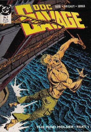 Doc Savage (1988-1990)#7