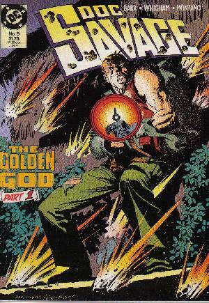 Doc Savage (1988-1990)#9