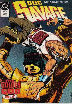 Doc Savage (1988-1990)#10