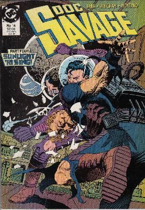 Doc Savage (1988-1990)#14