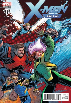 X-Men: Blue (2017-2018)#1I