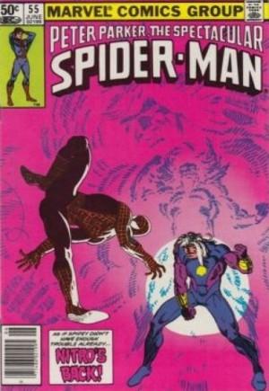 Spectacular Spider-Man (1976-1998)#55A