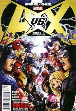 Avengers vs. X-Men (2012)#1V
