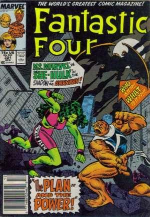 Fantastic Four (1961-1996)#321A