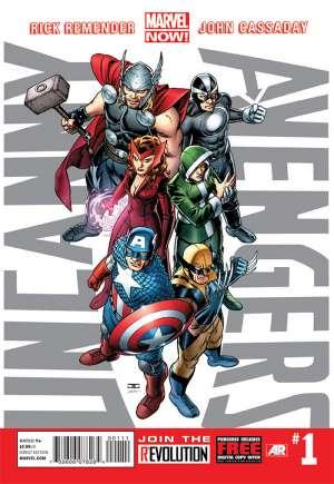 Uncanny Avengers (2012-2014)#1A