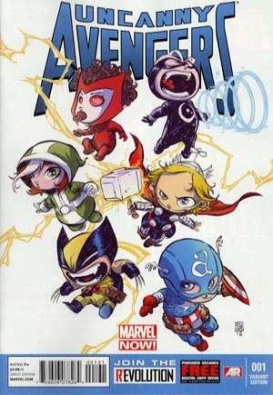 Uncanny Avengers (2012-2014)#1C