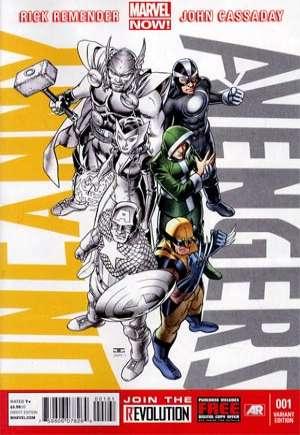 Uncanny Avengers (2012-2014)#1F