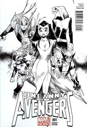 Uncanny Avengers (2012-2014)#1L