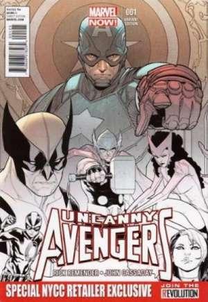 Uncanny Avengers (2012-2014)#1T