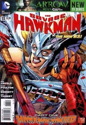 Savage Hawkman (2011-2013)#13