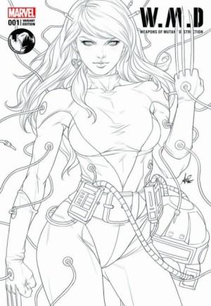 W.M.D. Weapons Of Mutant Destruction#1E