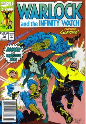 Warlock and the Infinity Watch (1992-1995) #14A