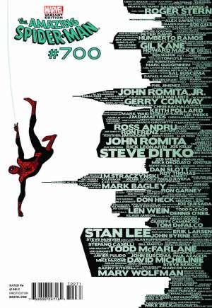 Amazing Spider-Man (1999-2014)#700D
