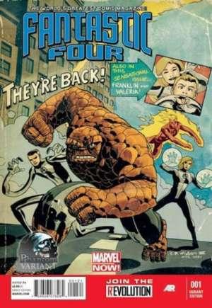 Fantastic Four (2012-2014)#1I