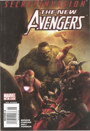 New Avengers (2005-2010)#40A