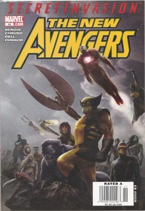 New Avengers (2005-2010)#45A