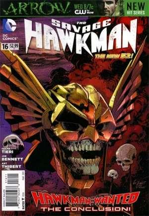 Savage Hawkman (2011-2013)#16