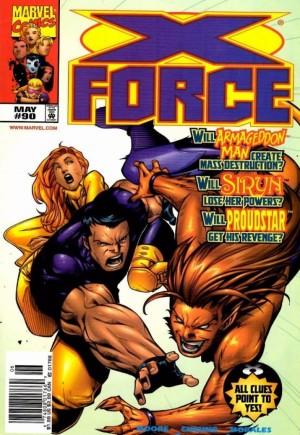 X-Force (1991-2002)#90A