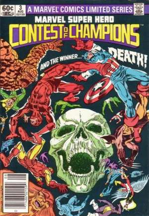 Marvel Super-Hero Contest of Champions (1982)#3A