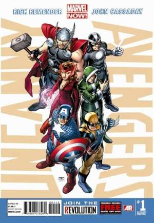 Uncanny Avengers (2012-2014)#1V