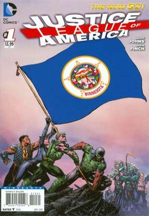Justice League of America (2013-2014) #1Z