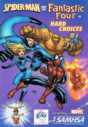 Spider-Man and the Fantastic Four in Hard Choices (2006)#One-ShotB