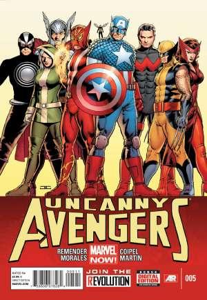 Uncanny Avengers (2012-2014)#5A