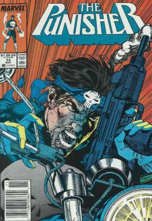 Punisher (1987-1995) #13A