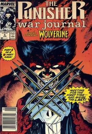 Punisher: War Journal (1988-1995)#6A