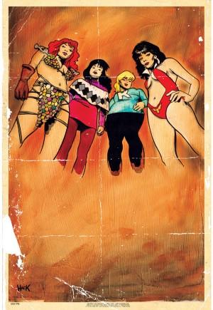Red Sonja and Vampirella Meet Betty and Veronica#1K