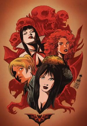 Red Sonja and Vampirella Meet Betty and Veronica#1L