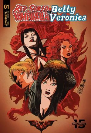 Red Sonja and Vampirella Meet Betty and Veronica#1B