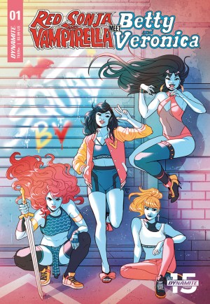 Red Sonja and Vampirella Meet Betty and Veronica #1D