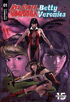 Red Sonja and Vampirella Meet Betty and Veronica#1G