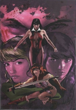 Red Sonja and Vampirella Meet Betty and Veronica#1T