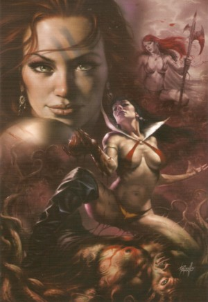 Red Sonja and Vampirella Meet Betty and Veronica#1Y