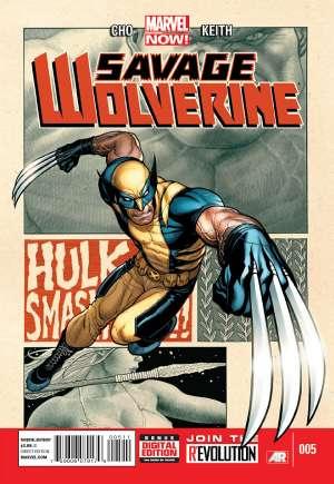 Savage Wolverine (2013-2014)#5A