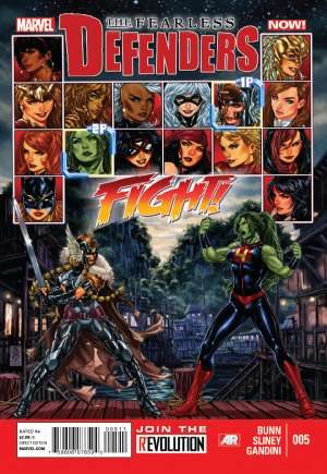 Fearless Defenders (2013-2014)#5A
