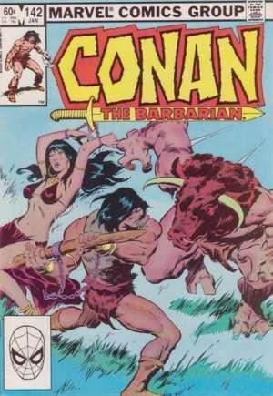 Conan the Barbarian (1970-1993)#142B