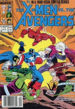 X-Men vs. the Avengers (1987)#1A
