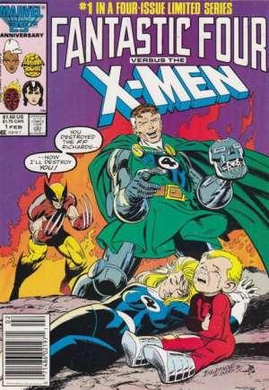 Fantastic Four vs. X-Men (1987)#1A