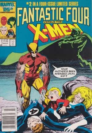 Fantastic Four vs. X-Men (1987)#2A