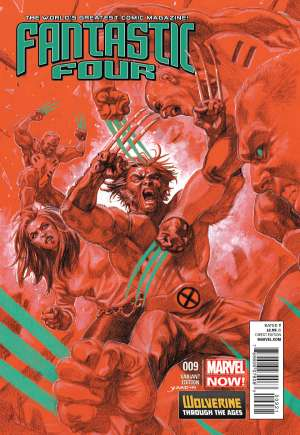 Fantastic Four (2012-2014)#9B