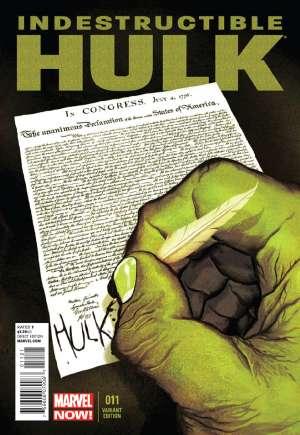 Indestructible Hulk (2013-Present)#11B
