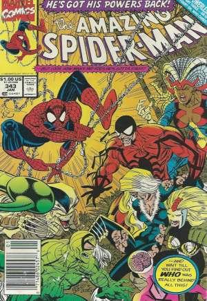 Amazing Spider-Man (1963-1998)#343A
