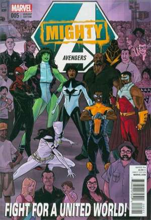 Mighty Avengers (2013-2014) #5B