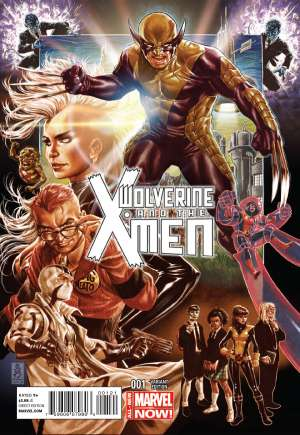 Wolverine and the X-Men (2014-2015)#1B