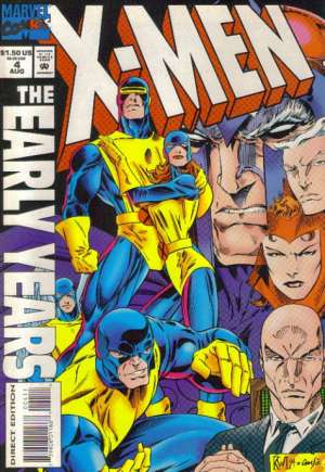 X-Men: The Early Years (1994-1995) #4B