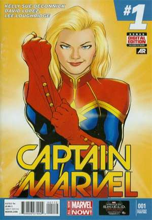 Captain Marvel (2014-2016) #1F