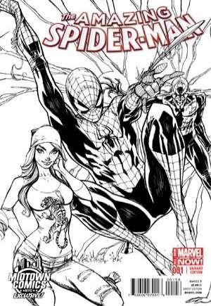 Amazing Spider-Man (2014-2015)#1P